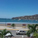 From the front veranda of Hotel Victoriano. San Juan del Sur bay.