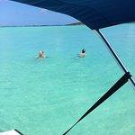 Snorkelling in Flamingo Bay