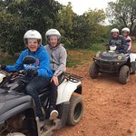 Another fantastic day out with Rory on the quads. This is the 2nd time now my husband and I have