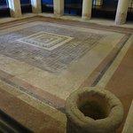 Ancient roman tile floor