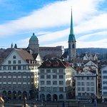 Zurich from Lindenhofplatz