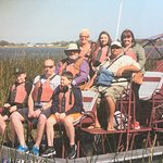Fun at captain Fred's airboat tours