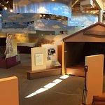 Displays inside learning center