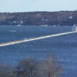 Whitecaps at Rockland Breakwater Light