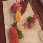 Everything sashimi. YUM!