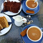 What excellent coffee and cakes!