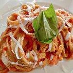 Fettuccine alla Tosca