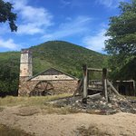 Sugar Mill ruins at the bottom