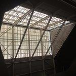 Atrium roof.
