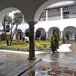 Hail at the Botero Museum