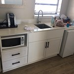 Kitchen amenities - know before you go - clean but minimalistic.