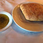 Complimentary bread and oil