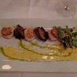 Scallops and Pork Belly (Appetizer)