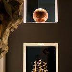 Piccole sculture in esposizione