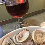 Beer & oysters... fantastic!