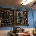 Barking Dog Cafe menu