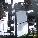 Torre para tirarse desde 30mts. excelente!
