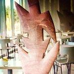 Cafe Sculpture