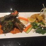 Yummy food in saffron