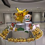 Meowth, Pikachu and Rowlet