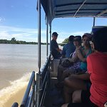 A very good on hour cruise on the adelaide river Darwin  The female skipper very good very knowl