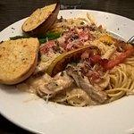 Spaghetti Chicken Carbonara