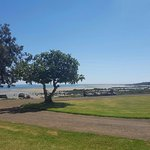 The view from the front of the Inn over Westernport Bay