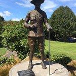 Colonel Malone's Statue Photo