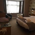 Stayed in Rm3 (Deluxe) last night,immaculately clean,slept like a log in the comfy bed,staff rea