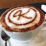 Karter's cappuccino