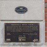 the tower plaque