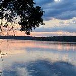 Sunset on the Iguazu river (within hotel grounds)