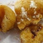 les traditionnels et bien bons beignets à la pomme et à la banane
