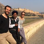 Jaipur's Amber Fort with Jass