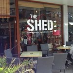 Nice place to eat down town at the Shed in Events Square. You will like this place. Trust me.