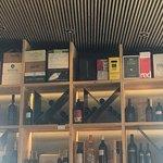 Innenbereich bei der Bar