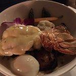 lobster and pork belly carbonara