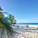Local public beach Playa Flamenco.