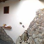"bathroom of ""shant"", with sky light"
