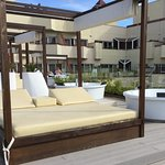Premium sun terrace / hot tub