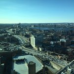 Nice view of Boston