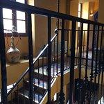 accès au 1er étage