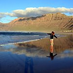 Photo de Famara Beach