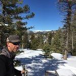 Stuart on the trail