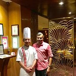 With Thai Chef Themba