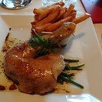 plat poulet rôti