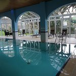a beautiful and quiet indoor pool