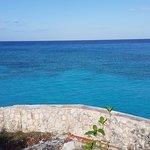 Amazing blue water !