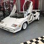 The Lamborghini Countach WOW my dream car and being able to stand near one was fantastic, this p