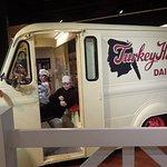 Turkey Hill milk truck